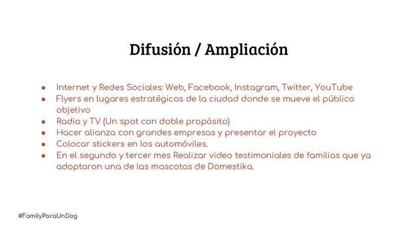 Proyecto: #FamilyParaUnDog 5