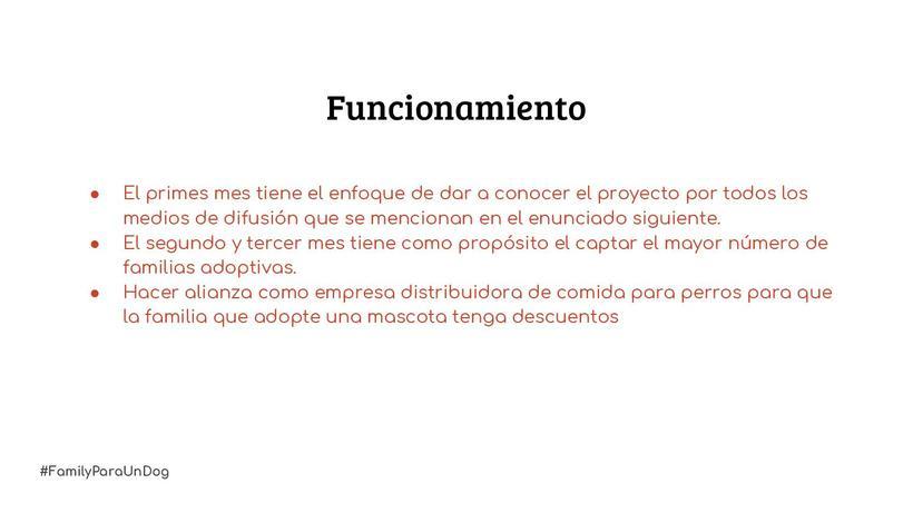 Proyecto: #FamilyParaUnDog 4