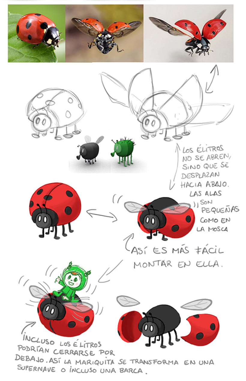 BUGS - Character Design 4