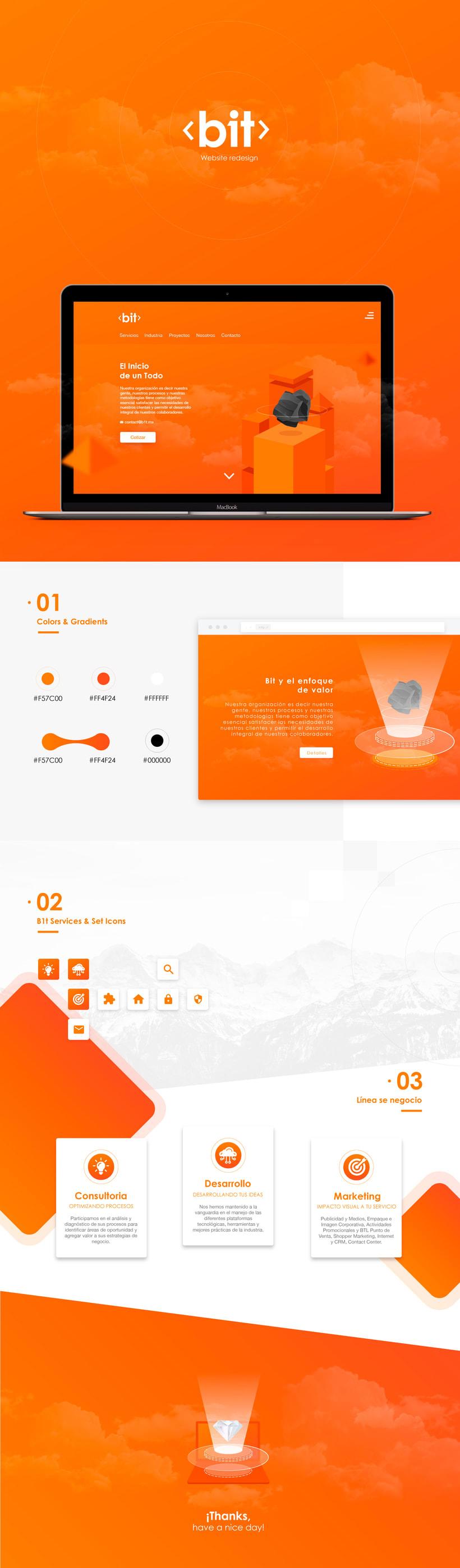 B1t website redesign 0