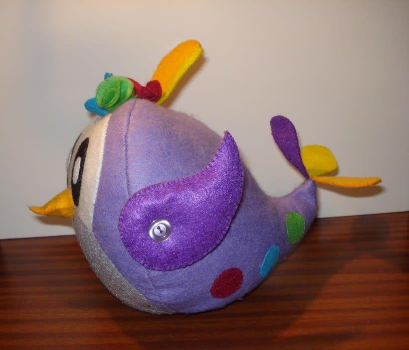 Mi Proyecto del curso: Textile Toys: diseño y creación de personajes en tela 2