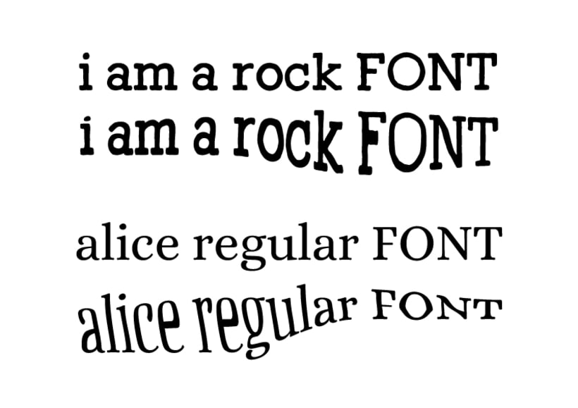 Personaje tipográfico en Illustrator 0