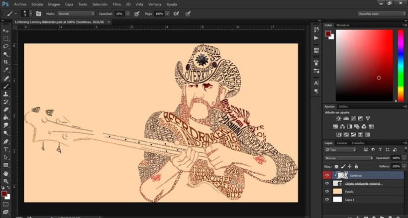 Personaje tipográfico en Illustrator 5