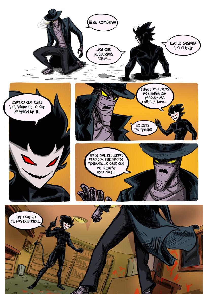 nuevas paginas de Detective Misterio 18