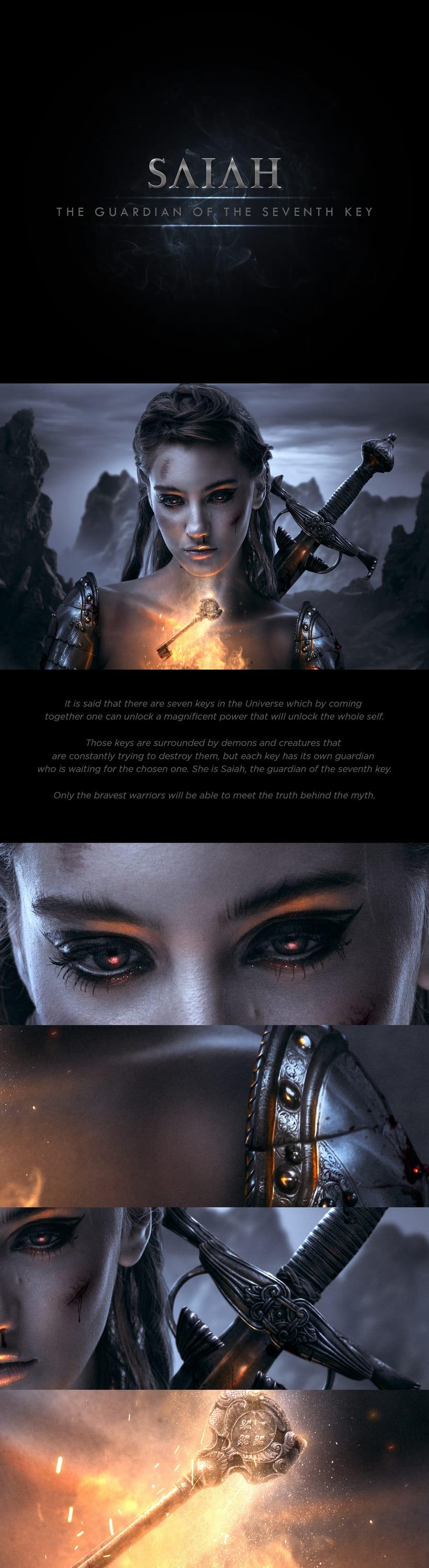 Saiah - La guardiana de la séptima llave 0