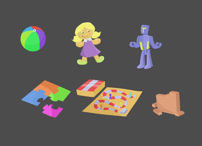 Props para serie animada. 18