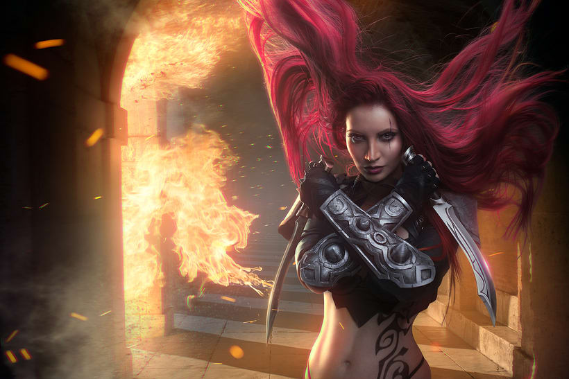 Katarina de League of Legends 1