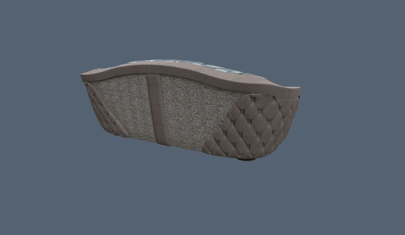 Modelado y Esculpido de Sofá y Sillón a medida 16