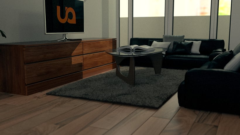 Photorealistic Render - Living Room 1