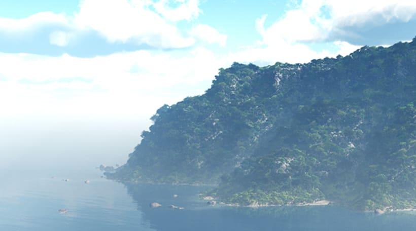 Isla Foto Realista 0