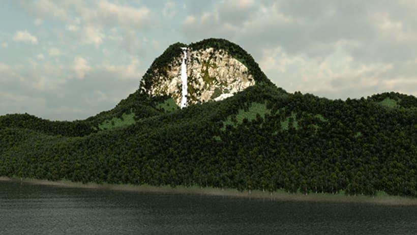 Isla Foto Realista 2
