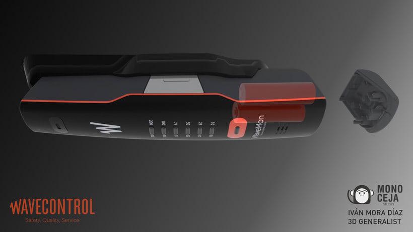 Wavemon Broadband © - 3D Product Design 4