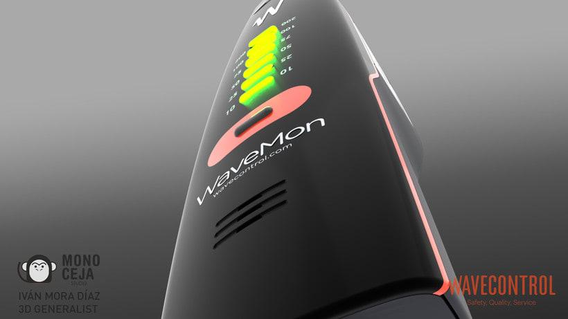 Wavemon Broadband © - 3D Product Design 3