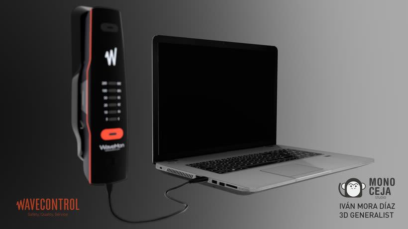 Wavemon Broadband © - 3D Product Design 5