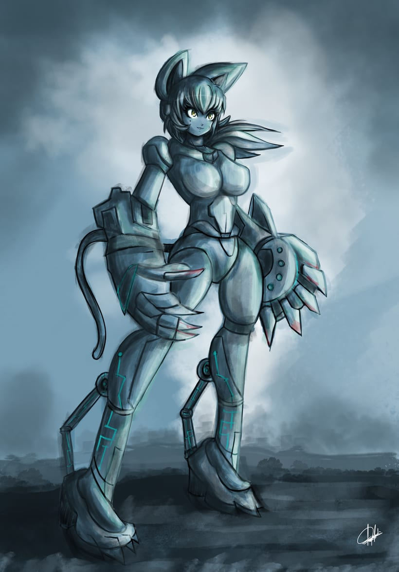 Diseño de personajes para Concept Art -1
