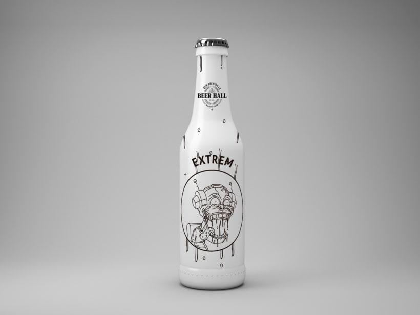 Mi Proyecto del curso: Branding y Packaging para una Cerveza Artesanal 8