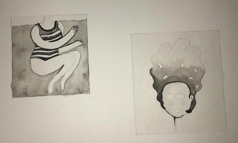 Mi Proyecto del curso: Introducción a la ilustración con tinta china 3