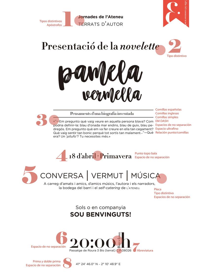Mi Proyecto del curso: Ortotipografía para diseñadores 2