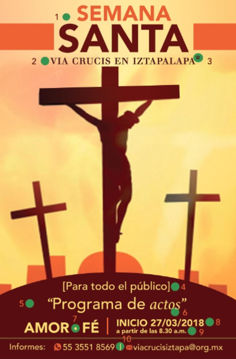 Vía crucis Iztapalapa 0