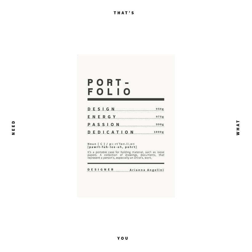 GRAPHIC PORTFOLIO -1