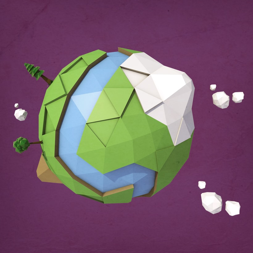 Low Poly World -1