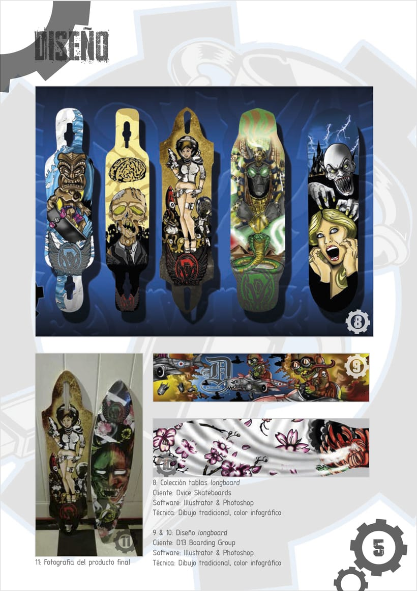 Colección tablas longboard  -1