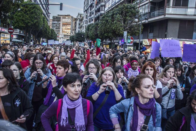 Huelga 8 de marzo 2018 - Valéncia  2