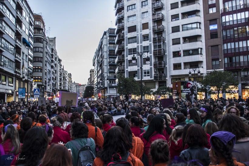 Huelga 8 de marzo 2018 - Valéncia  3