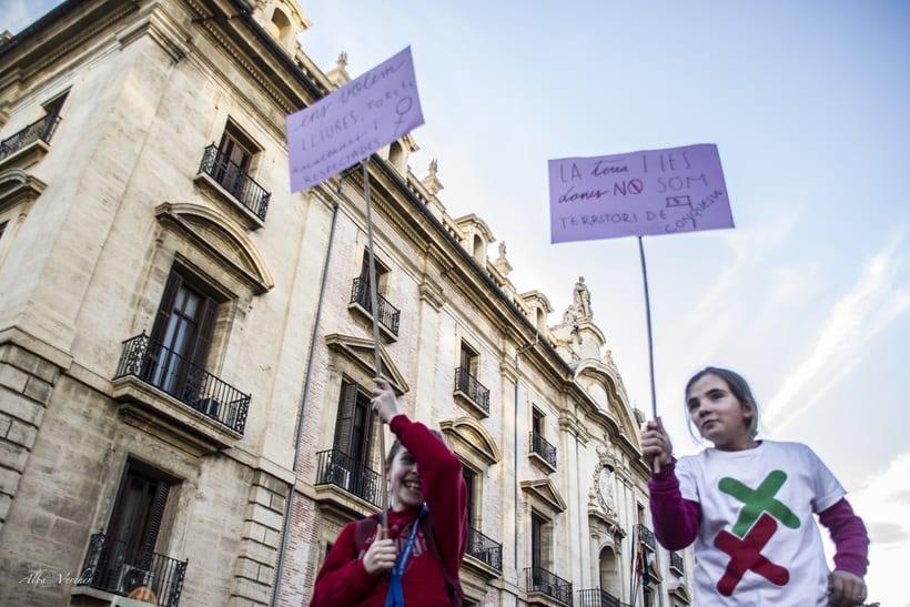 Huelga 8 de marzo 2018 - Valéncia  4