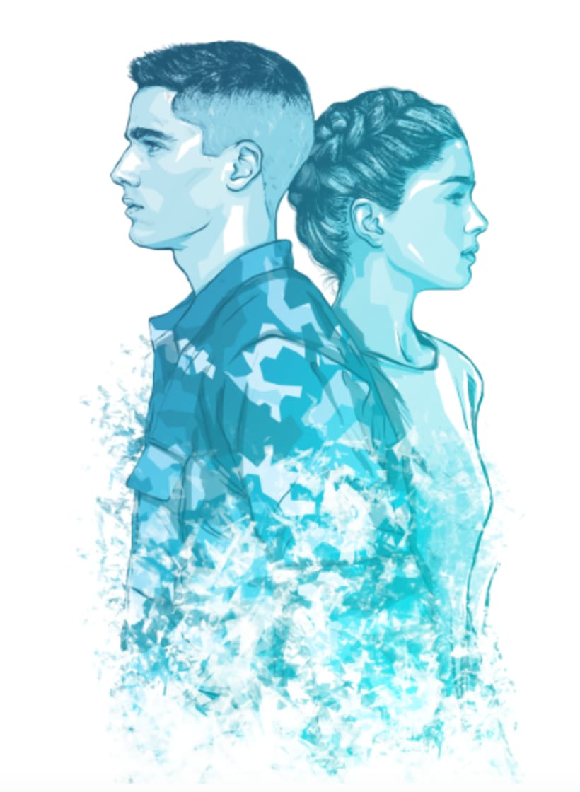 AldoBrando ed EliAdele • Book Cover Illustration 0