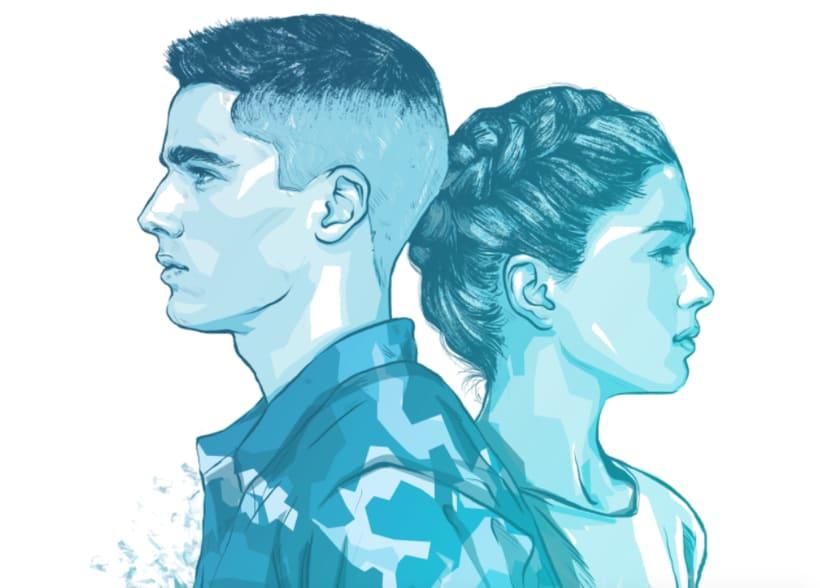 AldoBrando ed EliAdele • Book Cover Illustration 3