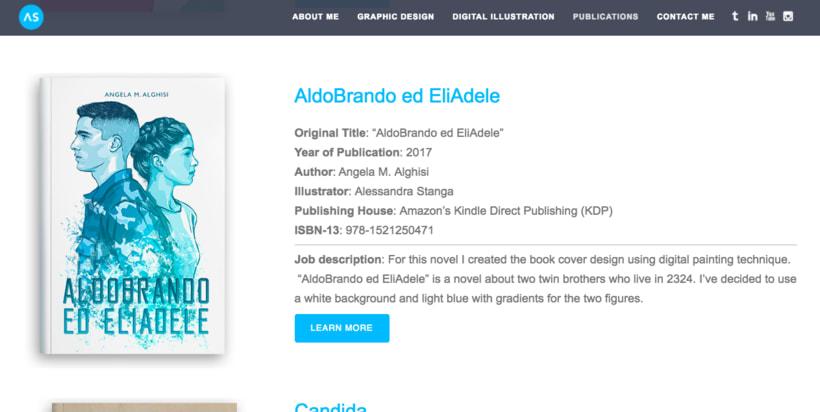 AldoBrando ed EliAdele • Book Cover Illustration 5