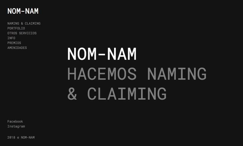 NUEVA WEB NOM-NAM 0
