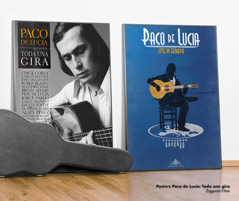 Propuestas de poster para el documental de Paco de Lucía. -1