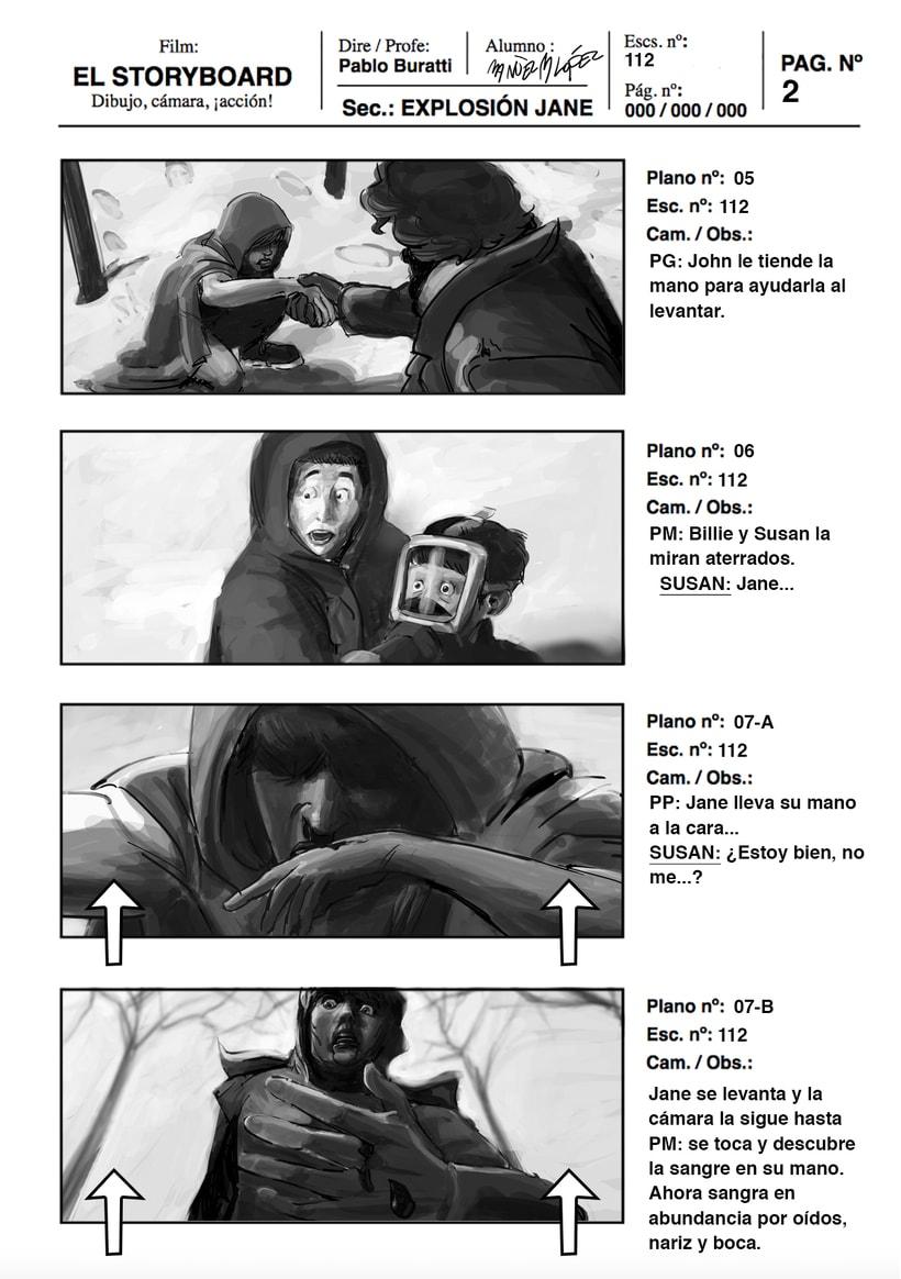 Mi Proyecto del curso: Ilustración de storyboards para Cine y Publicidad<3e 1