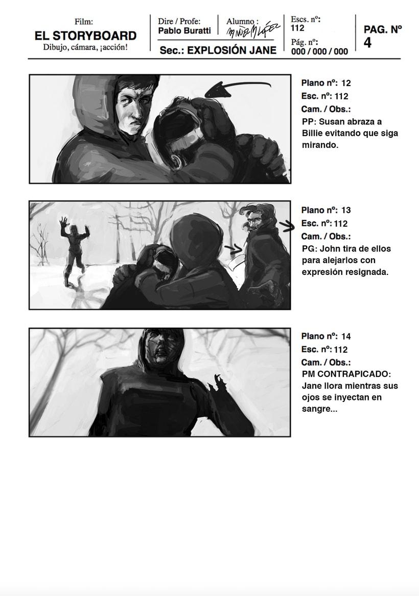 Mi Proyecto del curso: Ilustración de storyboards para Cine y Publicidad<3e 3