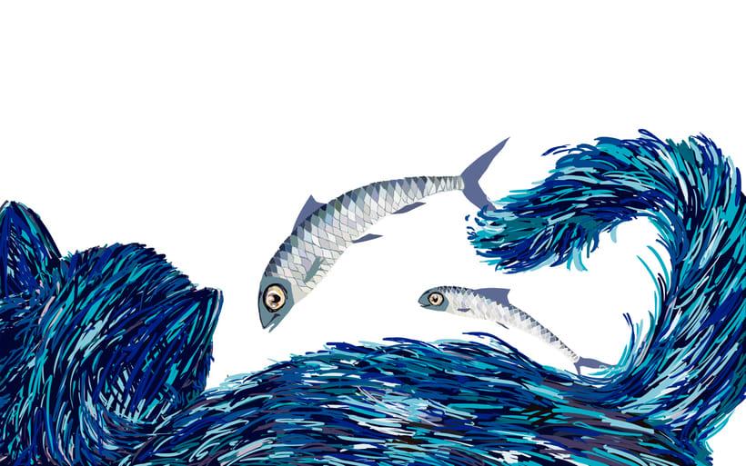 El gato y las sardinas. Proyecto personal 4