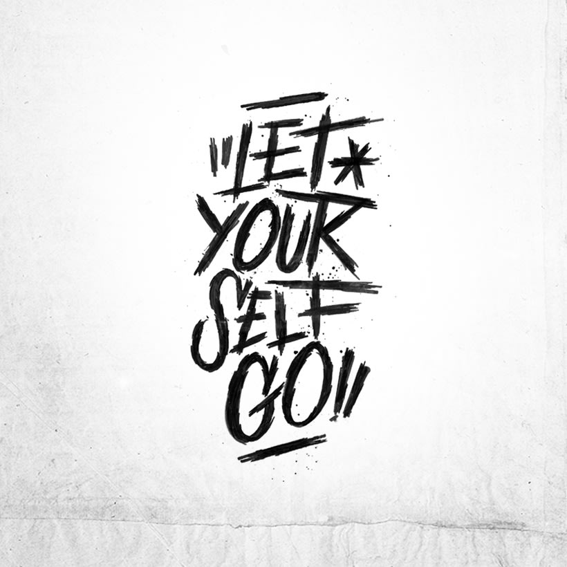 LET YOUR SELF GO -1