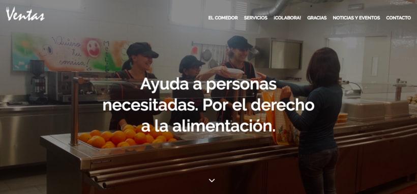 Web: Comedor Social Ventas 0