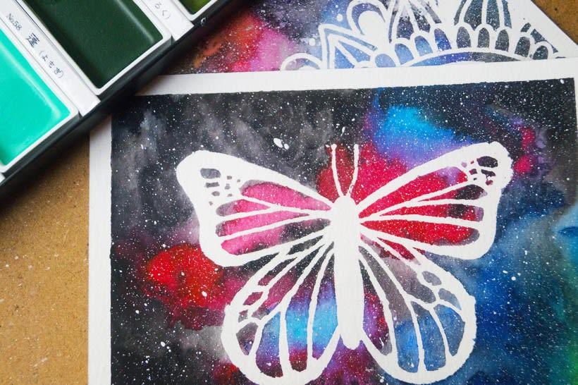 Mariposas y mandalas 1