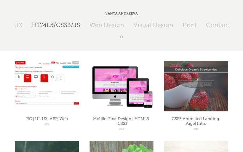 Web Portfolio - http://vanya-andreeva.com -1