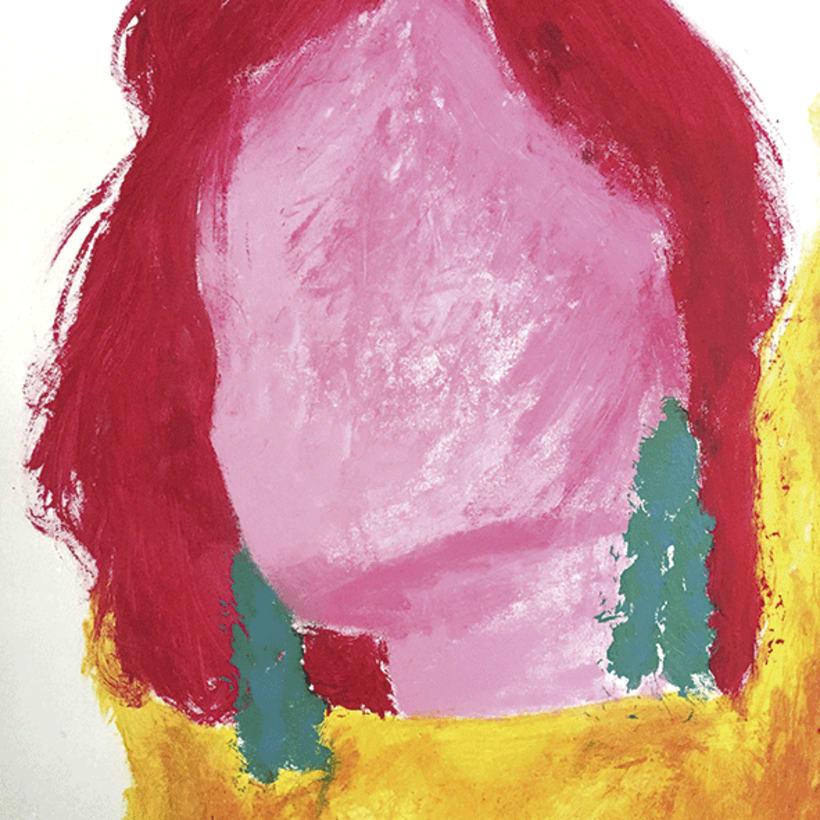 Acrylic Girl -1