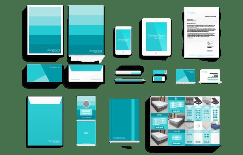 Branding e identidad corporativa - SmartBed Company 2