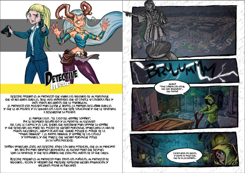 Detective Misterio ( paginas dobles modo lectura) 1