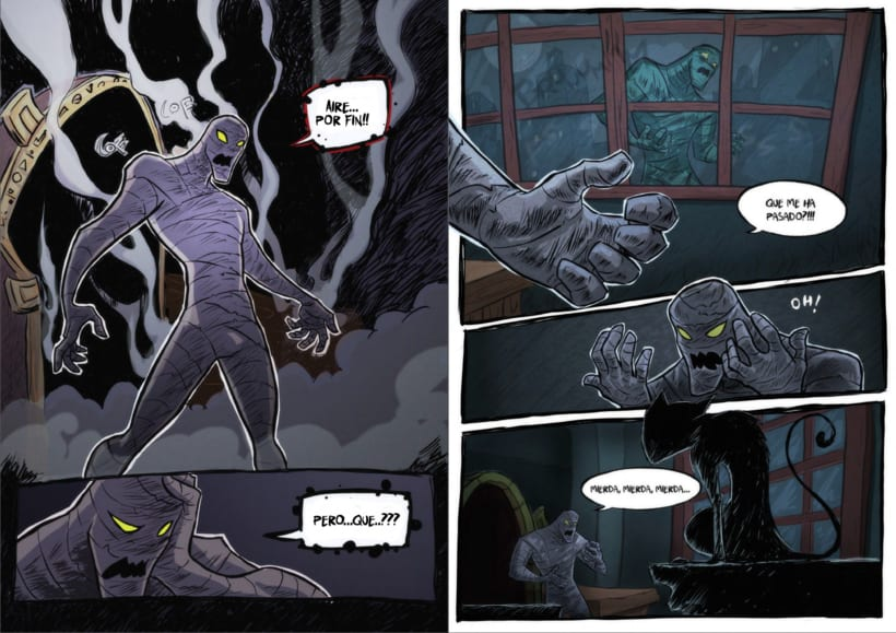Detective Misterio ( paginas dobles modo lectura) 5