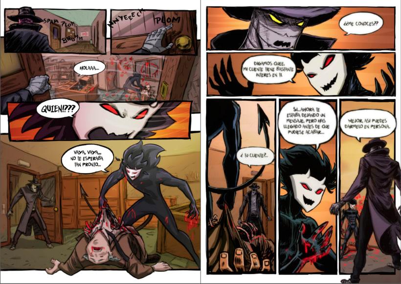 Detective Misterio ( paginas dobles modo lectura) 8