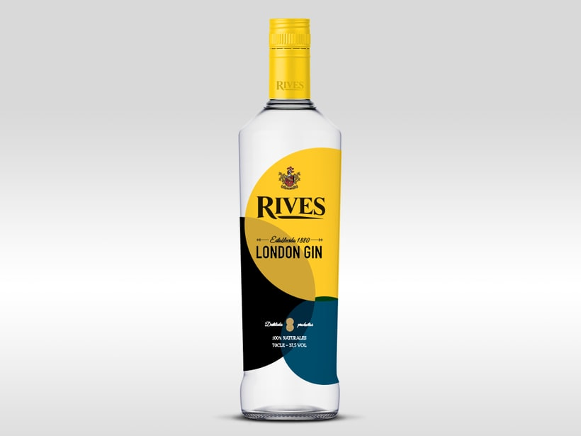 Rediseño de la botella Rives 0