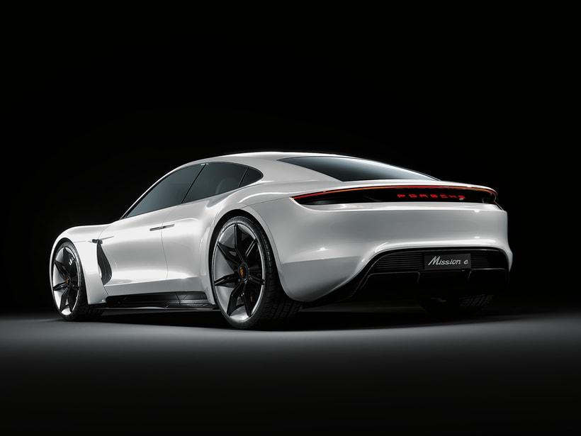 Porsche  Mission E Concept | CGI -1