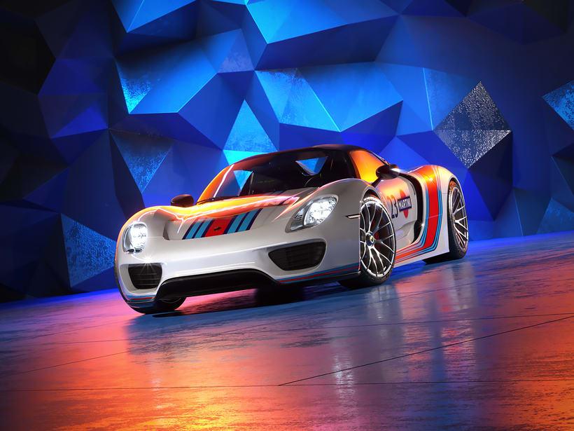 Porsche 918 Spider | CGI -1