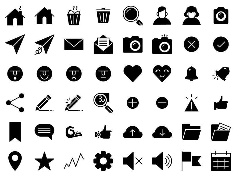 UI - Set de iconos Lipo 1